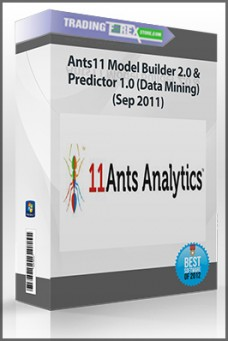 Ants11 Model Builder 2.0 & Predictor 1.0 (Data Mining) (Sep 2011)