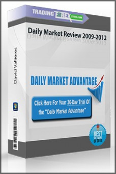 David Vallieres – Daily Market Review 2009-2012 (Video 16 GB)