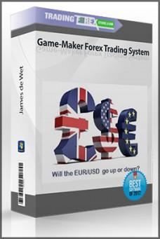 James de Wet – Game-Maker Forex Trading System