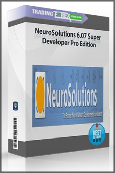 NeuroSolutions 6.07 Super Developer Pro Edition