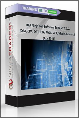 OFA Ninja Full Software Suite v7 7 0 0  (OFA, CPA, DPT, EXA, MOA, VCA, VPA  indicators ) (Apr 2015)