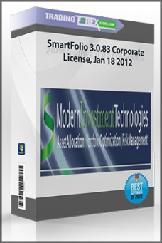 SmartFolio 3.0.83 Corporate License, Jan 18 2012