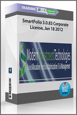 SmartFolio 3.0.83 Corporate License, Jan 18 2012