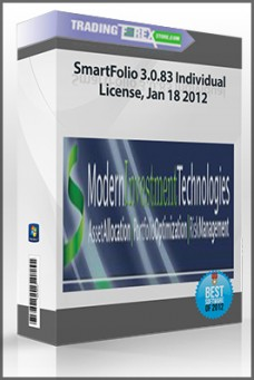 SmartFolio 3.0.83 Individual License, Jan 18 2012