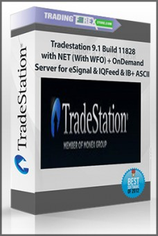 Tradestation 9.1 Build 11828 with NET (With WFO) + OnDemand Server for eSignal & IQFeed & IB+ ASCII