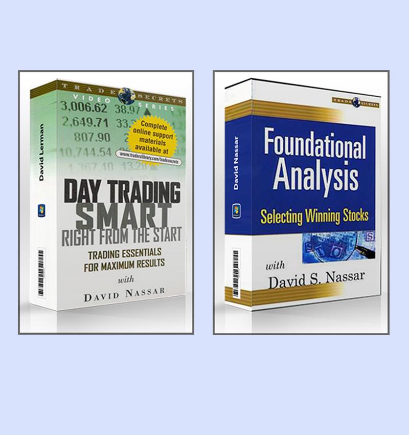 David Nassar – Day Trading Smart + David Nassar – Foundational Analysis. Selecting Winning Stock