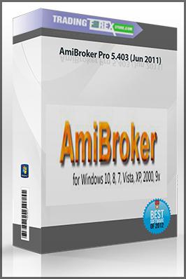 AmiBroker Pro 5.403 (Jun 2011)
