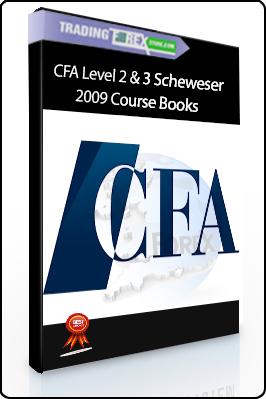 CFA Level 2 & 3 Scheweser 2009 Course Books (schweser com)