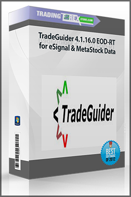 TradeGuider 4.1.16.0 EOD-RT for eSignal & MetaStock Data