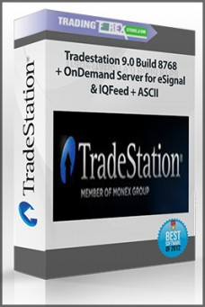 Tradestation 9.0 Build 8768 + OnDemand Server for eSignal & IQFeed + ASCII