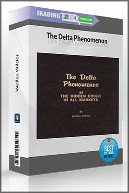 Welles Wilder – The Delta Phenomenon