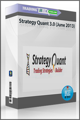 Strategy Quant 3.0 (June 2013)