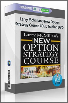 Larry McMillan's New Option Strategy Course 4Disc Trading DVD