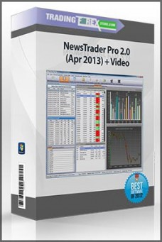 NewsTrader Pro 2.0 (Apr 2013) + Video