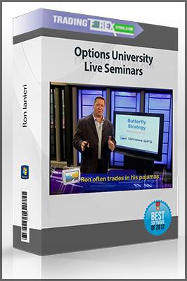 Options University – Ron Ianieri – Options University Live Seminars (optionsuniversity.com)
