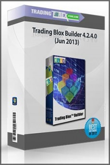 Trading Blox Builder 4.2.4.0 (Jun 2013)