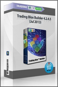 Trading Blox Builder 4.2.4.5 (Jul 2013)