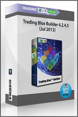Trading Blox Builder 4.2.4.5 (Jul 2013)