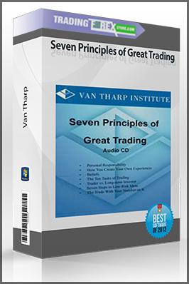 Van Tharp – Seven Principles of Great Trading (Audio CD)
