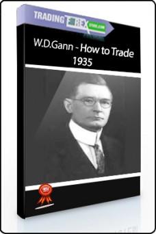 W.D.Gann – How to Trade, 1935