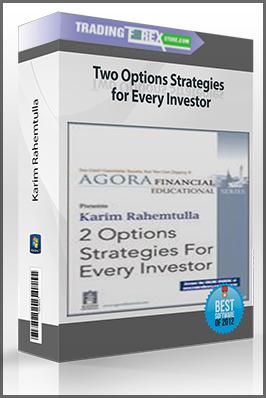 Karim Rahemtulla – Two Options Strategies for Every Investor