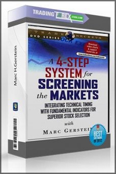 Marc H.Gerstein – A 4 Step System to Screening the Markets