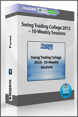 Swing Trading College 2013 – 10-Weekly Sessions