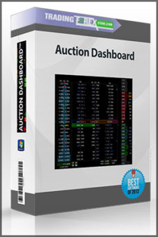 Auction Dashboard (July 2016)
