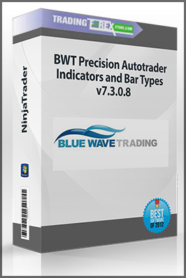 BWT Precision Autotrader, Indicators and Bar Types v7.3.0.8