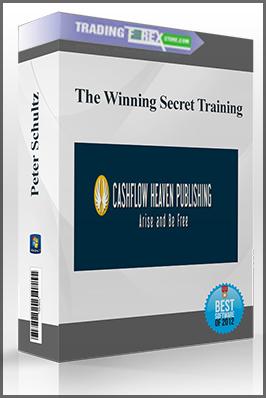 Peter Schultz – The Winning Secret Training