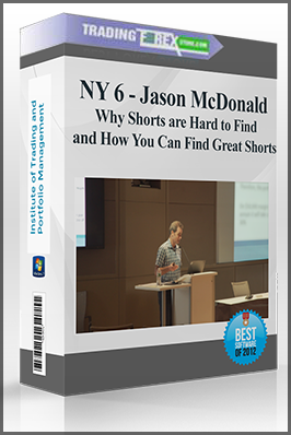 NY 6 – Jason McDonald – Why Shorts are Hard to Find and How You Can Find Great Shorts