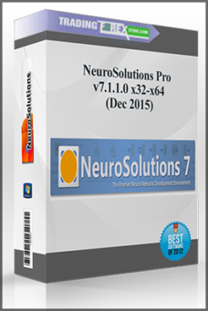NeuroSolutions Pro v7.1.1.0 x32-x64 (Dec 2015)