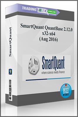 SmartQuant QuantBase 2.12.0 x32-x64 (Aug 2016)