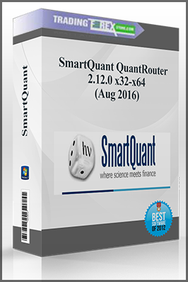 SmartQuant QuantRouter 2.12.0 x32-x64 (Aug 2016)