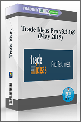 Trade Ideas Pro v3.2.169 (May 2015)