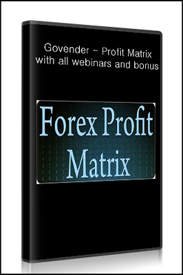 Forex profit matrix by wesley govender