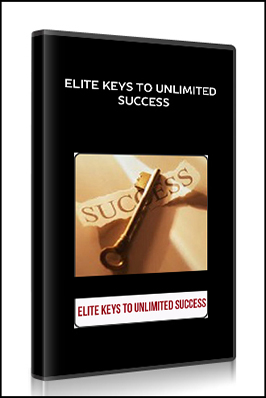 Elite Keys To Unlimited Success