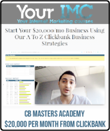 CB Masters Academy – $20,000 Per Month From Clickbank