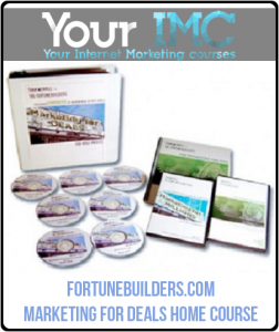 FortuneBuilders.com – Marketing for Deals Home Course