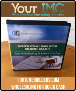 FortuneBuilders.com – Wholesaling for Quick Cash