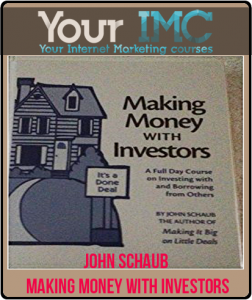 John Schaub – Making Money With Investors 19 CDs + PDFs
