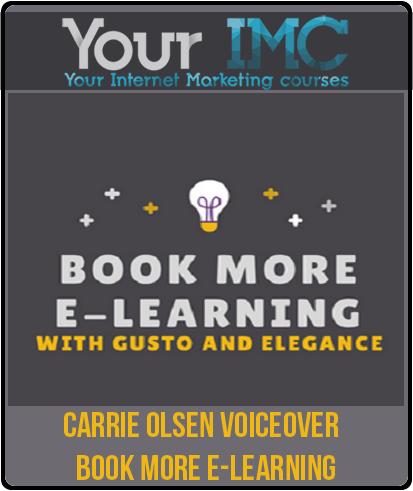 Carrie Olsen Voiceover – Book More E-learning
