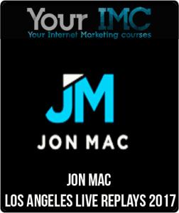Jon Mac – Los Angeles Live Replays 2017