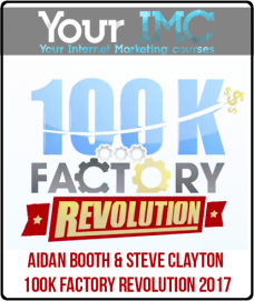 Aidan Booth & Steve Clayton – 100K Factory Revolution 2017