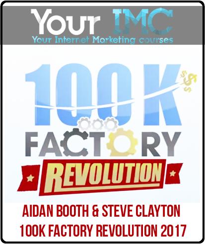 Aidan Booth & Steve Clayton – 100K Factory Revolution 2017