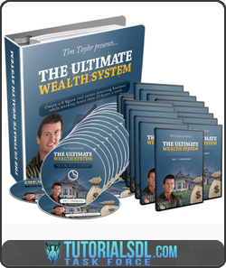 Tim Taylor – Ultimate Wealth System Self – Study Program