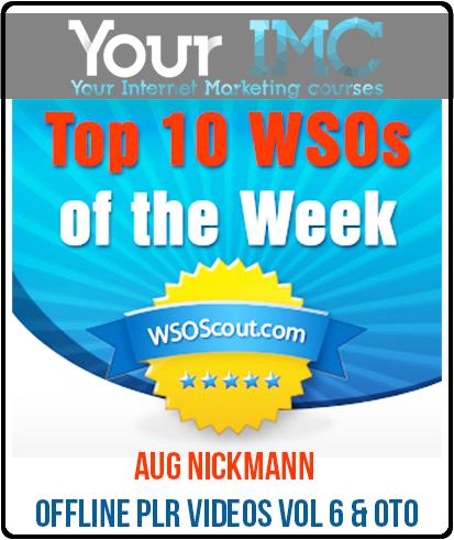 Aug NickMann – Offline PLR Videos Vol 6 & OTO