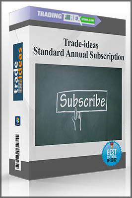 Trade-ideas – Standard Annual Subscription
