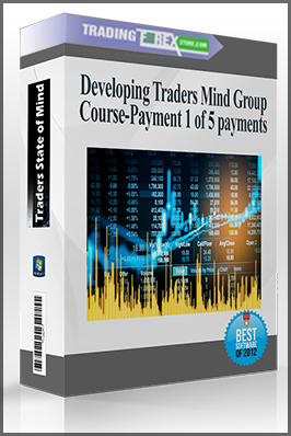 Developing Traders Mind Group Course-Payment 1 of 5 payments