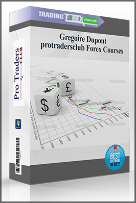 "Gregoire Dupont: ""protradersclub Forex Courses"""